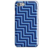 Stripy steps in Blue iPhone Case/Skin