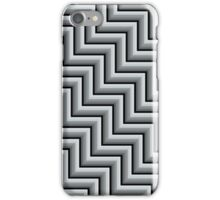 Stripy steps in Grey iPhone Case/Skin
