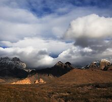 Clouds Building over the Organ Mountains by Vivian Christopher
