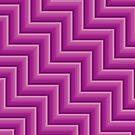 Stripy steps in Pink by bradwoodgate
