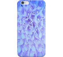 Blue And White Pincushion Flower iPhone Case/Skin