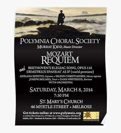 Mozart Requiem (March 2014) Poster