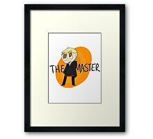 Doctor Who - The Master Framed Print