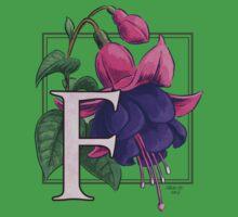F is for Fuchsia Baby Tee