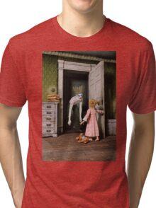 Mr Kreepy The Clown Tri-blend T-Shirt