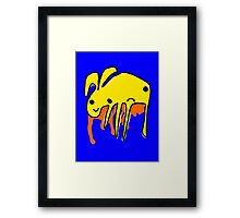 1000 Monsters - #10 - Bunny Framed Print