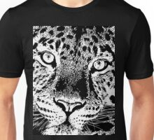 15 Chilled Out Leopard By Chris McCabe - DRAGAN GRAFIX Unisex T-Shirt