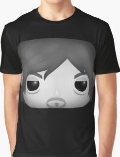 AMC The Walking Dead - Black and White Daryl Dixon - Funko Pop! Graphic T-Shirt