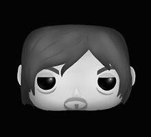 AMC The Walking Dead - Black and White Daryl Dixon - Funko Pop! by MokaMizore97