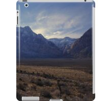 Red Rock Canyon National Conservation Area, Nevada iPad Case/Skin