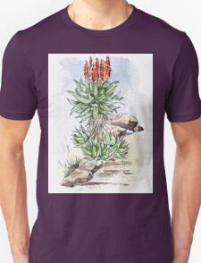 Aloe ferox in my garden Unisex T-Shirt