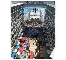 Atlantic City Boardwalk at Sea! Poster