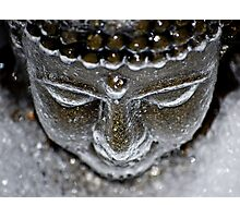 Iced Buddha - 2 Photographic Print
