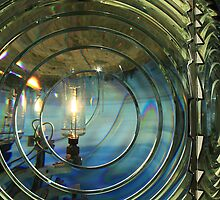 Cape Blanco Lighthouse Lens by James Eddy