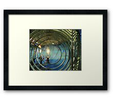 Cape Blanco Lighthouse Lens Framed Print