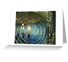 Cape Blanco Lighthouse Lens Greeting Card