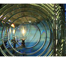 Cape Blanco Lighthouse Lens Photographic Print