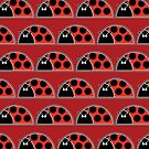 Lots Of Ladybugs iPhone Case by Louise Parton