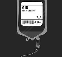 Alcoholic GIN Medical IV Drip  by Creative Spectator