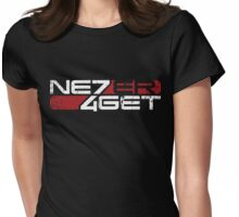 Never Forget: Shep v2 Womens Fitted T-Shirt
