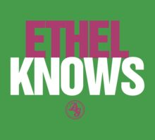 Discreetly Greek - Ethel Knows - Nike Parody by integralapparel