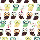 Owls {iPad Case} by sweettoothliz