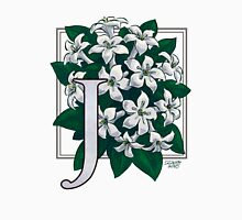 J is for Jasmine Womens Fitted T-Shirt