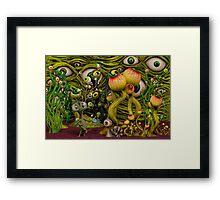 The Eyeball Garden Framed Print