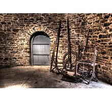 Inside the Old Grain Mill Nimmitabel Rural NSW  no2 Photographic Print