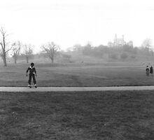 Boarding in Greenwich Park - 35 years ago by garryr