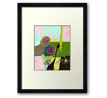 Abstract landscape - The inner landscape Framed Print
