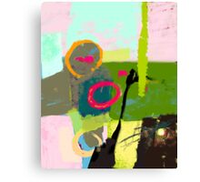 Abstract landscape - The inner landscape Canvas Print