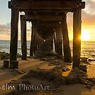 Point Lonsdale pier 2012 by marcusjohn