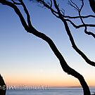 Half moon Sunrise Point Lonsdale by marcusjohn