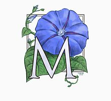 M is for Morning Glory Womens Fitted T-Shirt