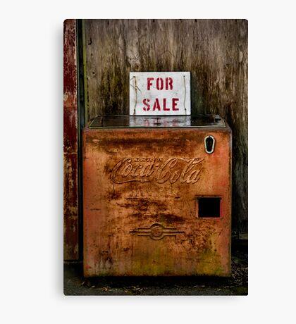 Coke for Sale  Canvas Print