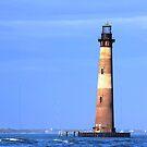 Morris Island Lighthouse by Darlene Lankford Honeycutt