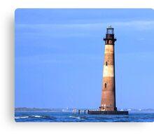 Morris Island Lighthouse Canvas Print