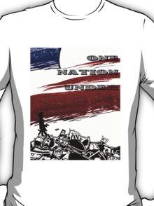 One Nation Under T-Shirt
