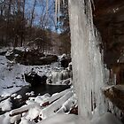 Icicles at R. B. Ricketts Falls by Mark Van Scyoc