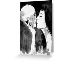 death and the maiden Greeting Card