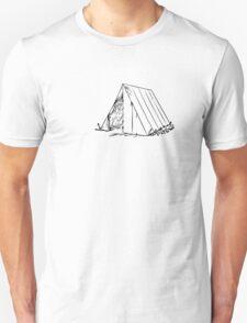 Camping Tent Outdoors Wilderness Unisex T-Shirt