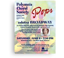 Salute Pops (June 2012) Canvas Print