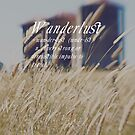 n. WAN-DER-LUST. by ellenor