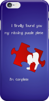I Finally Found You, My Missing Puzzle Piece by PirateGiraffe