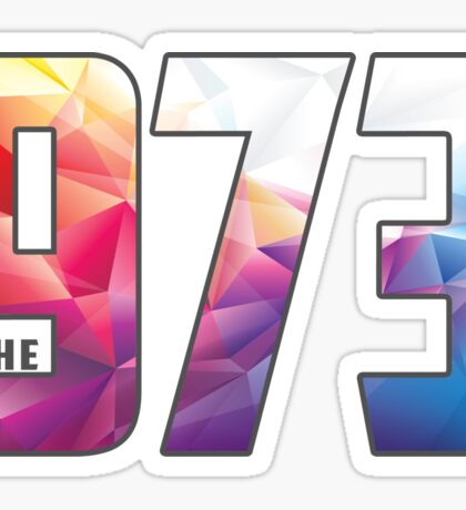 the 973 Sticker