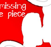 My Missing Puzzle Piece Sticker