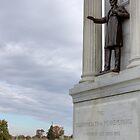 Lincoln at Gettysburg by Delmas Lehman