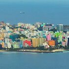 Male, the capital of the Maldives by supergold