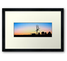 Inland NSW Outback Framed Print
